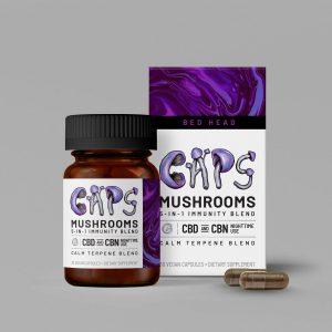25mg Nighttime Mushroom + CBN Capsules
