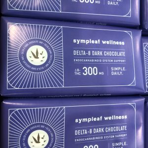 Delta 8 Dark Chocolate Bar 300mg