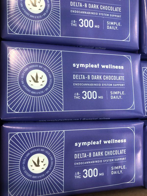 Delta 8 Dark Chocolate Bar 300mg