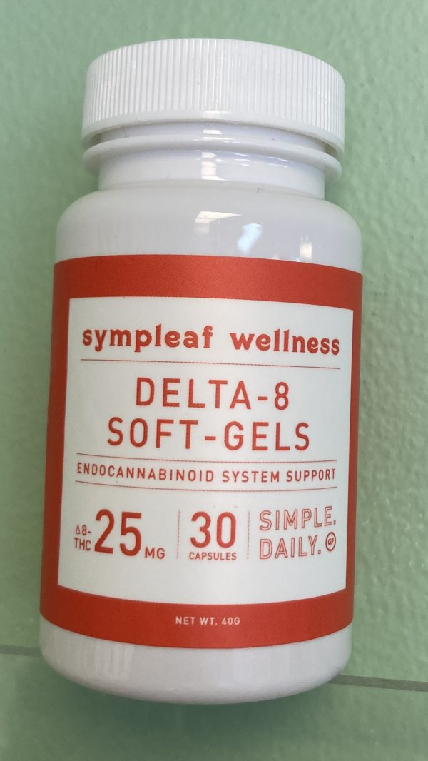 Delta 8 Softgels 25mg (30ct) from Sympleaf Wellness