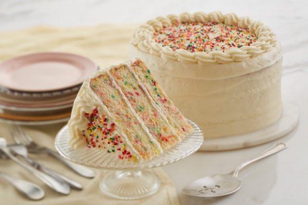 Birthday Cake CBD Cake Slice 50mg