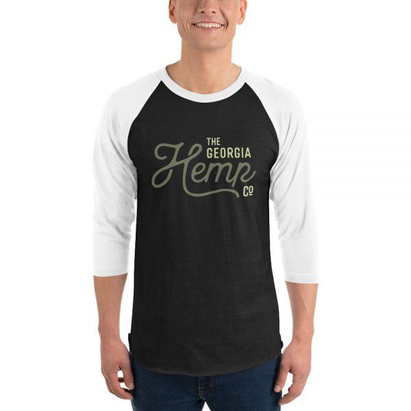 GHC 3/4 sleeve raglan shirt
