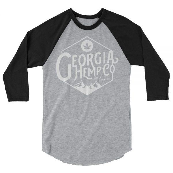GHC Mtn. 3/4 sleeve raglan shirt