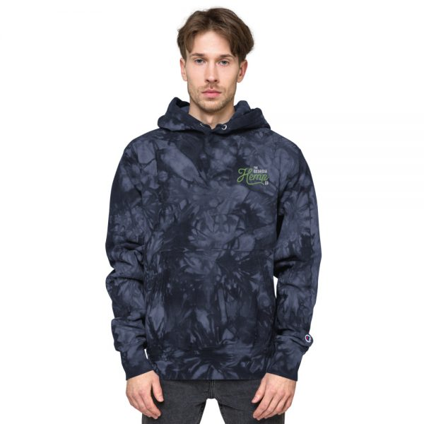 GHC Unisex Champion tie-dye hoodie