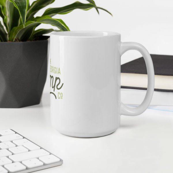 GHC White glossy mug