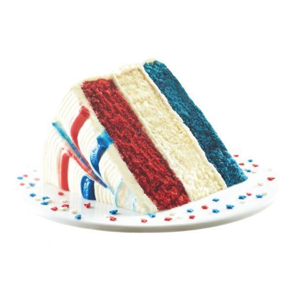 Memorial Day CBD Cake Slice 50mg