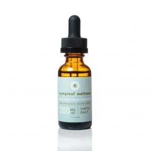 300mg Full Spectrum Hemp Extract Oil from Sympleaf Wellness