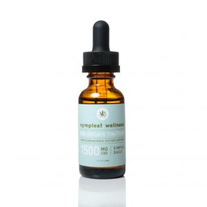 1500mg CBD Isolate Oil from Sympleaf Wellness