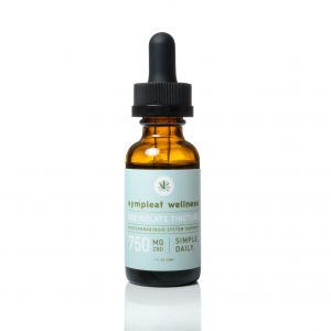 750mg CBD Isolate Oil from Sympleaf Wellness