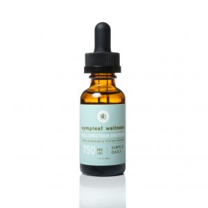 750mg Full Spectrum Hemp Extract Oil from Sympleaf Wellness