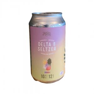 10mg Delta 8 Seltzer – Pineapple